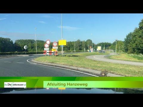 VIDEO | Drukte op Drontermeerdijk en Elburgerweg tijdens afsluiting Hanzeweg