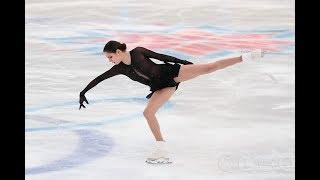 In support of Evgenia Medvedeva in Cup of Russia. В поддержку Евгении Медведевой на ФКР