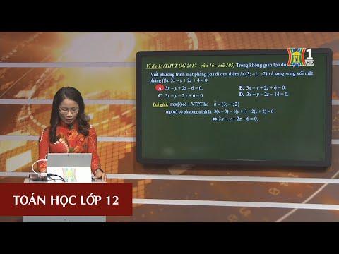 MÔN TOÁN HỌC - LỚP 12 | TÍCH PHÂN | 15H15 NGÀY 19.3.2020 (Dạy học trên truyền hình Hà Nội)