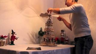 preview picture of video 'Kerst Piramide Demo'