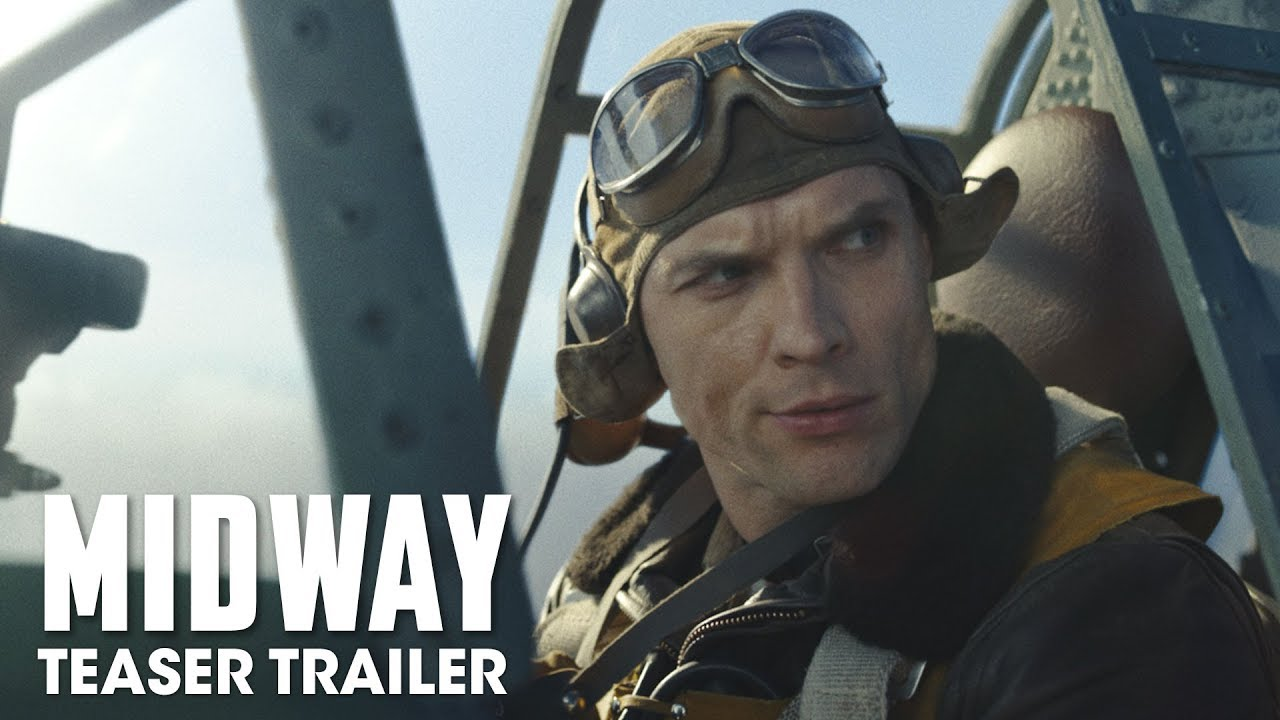 Video trailer för Midway (2019 Movie) Teaser Trailer — Ed Skrein, Patrick Wilson, Nick Jonas