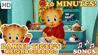 Daniel Tiger - Song Compilation (20 Minutes)