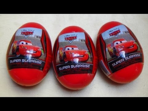Super Surprise Eggs [Disney Pixar Cars]
