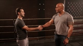 Meeting The Rock