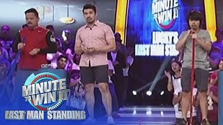 Spare Me | Minute To Win It - Lucky's Last Man Standing