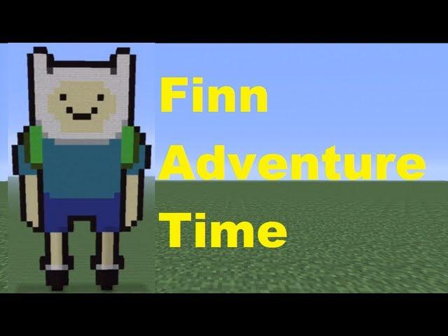 Minecraft Pixel Art Finn Tutorial Minecraft Pixel Art Dabbing