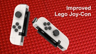 Improved Joy-Con for Lego Nintendo Switch MOC 2.0