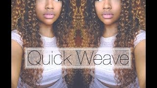Quick Glue-in Weave With No Leave Out