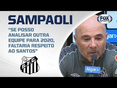 GOELADA DO PEIXE! Santos atropela Cruzeiro na Vila Belmiro; veja entrevista de Sampaoli
