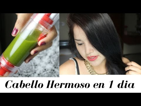 CABELLO HERMOSO EN 1 DIA 🌷🌷ACEITE CAPILAR CASERO- Maya Belleza de la India