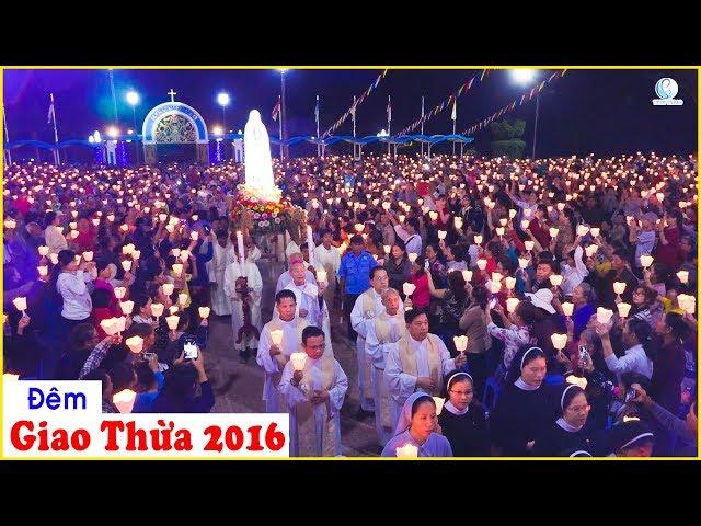Đêm diễn nguyện tại Trung tâm Thánh Mẫu Tapao 31. 12. 2016
