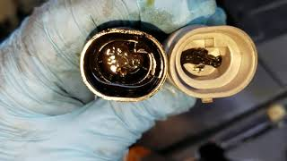 Replacing Oil Pressure Switch Sending Unit Sensor Chevy blazer