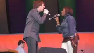 Clay Aiken & Quiana Parler-I Wanna Know What Love Is