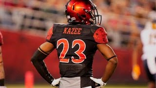 """Damontae Kazee """"Nations Most Underrated CB"""" Ultimate Highlights 2017"""