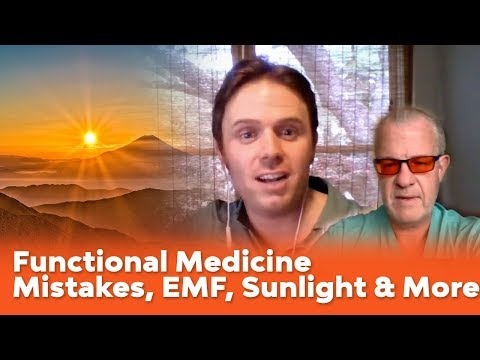 Dr. Jack Kruse - Functional Medicine Mistakes, EMF, Sunlight and Your Mitochondria - Podcast #135
