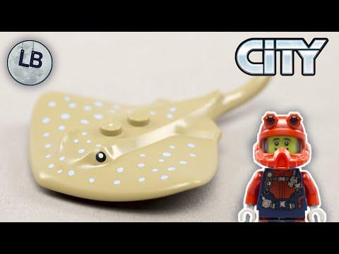 Vidéo LEGO City 30370 : Le plongeur océanique (Polybag)