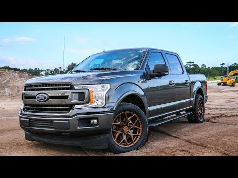 Transforming my 2018 F150 with Venom Rex Wheels!