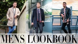 Mens Look Book | Autumn Winter Outfits X Jewellery  | Ali Gordon