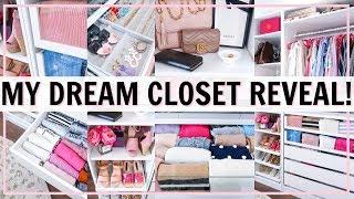 MY DREAM CLOSET TOUR! ULTIMATE CLOSET ORGANIZATION IDEAS! BEFORE AND AFTER | Alexandra Beuter