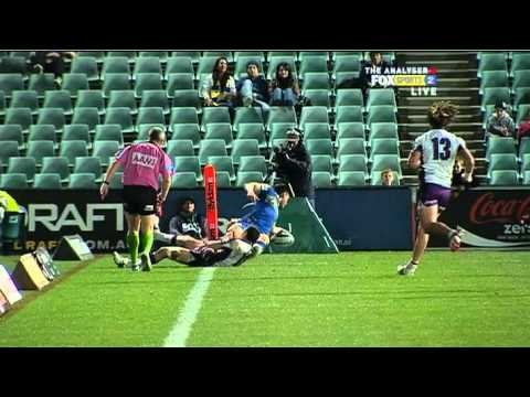 NRL 2011 Round 21 Highlights: Eels V Storm