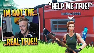 Tfue TROLLS Awkward Random Duo Partner... *FUNNIEST ENDING EVER*