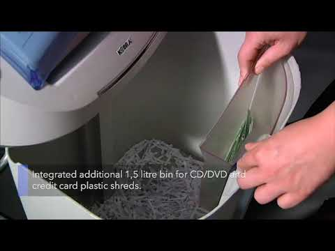 Video of the KOBRA +3 CC4 Shredder