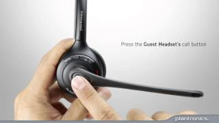 How to Remove a Guest Headset