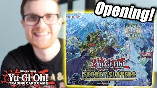 Yu-Gi-Oh! Secret Slayers Booster Box Opening & Discussion!