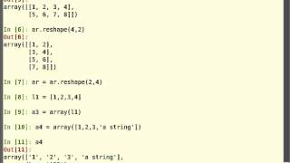 Getting started with Arrays in Python - Tutorial [English]