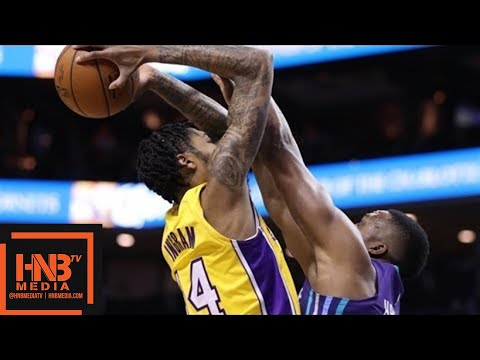 Los Angeles Lakers vs Charlotte Hornets 1st Qtr Highlights / Week 8 / Dec 9