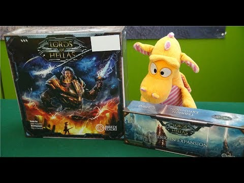 Lords of Hellas - Unboxing