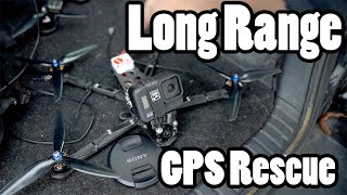 Finally trying out GPS Rescue mode in Betaflight for LONG RANGE FPV
