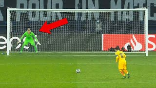 Penalty Saves that did not repeat