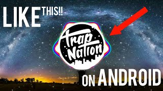 How To Make a Music Spectrum Like Trap Nation On Android