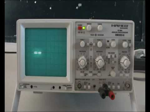 comment regler oscilloscope
