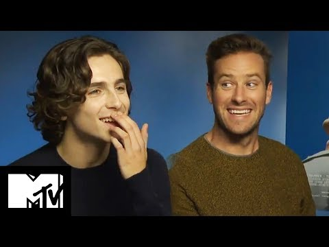 Call Me By Your Name | Armie Hammer And Timothee Chalet Go Speed Dating! | MTV Movies