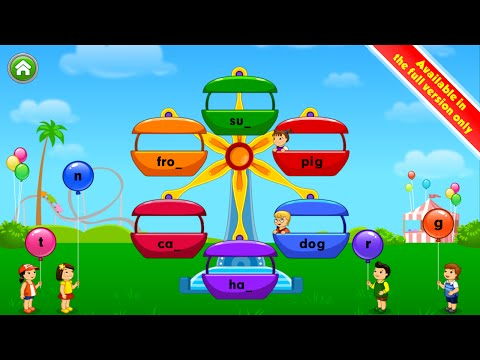 Screenshot of video: Kids ABC Phonics