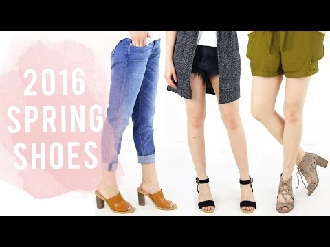2016 Spring Shoe Guide | Shoe Haul & Product Review | 2016 Shoe trends | Miss Louie