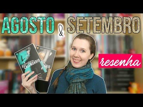 VEDA #5 | Resenhas A Garota do Calendário: Agosto e Setembro | Leituras de Deni