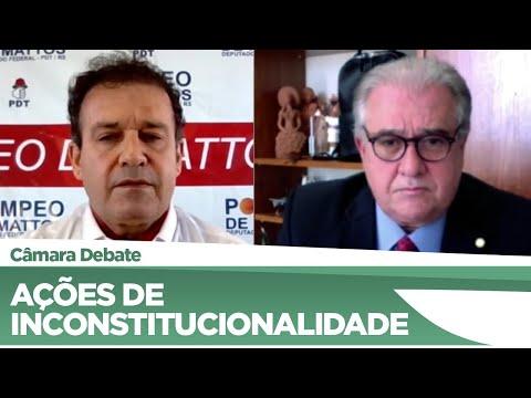 Deputados divergem sobre projeto que limita ações de inconstitucionalidade no STF - 14/05/2021