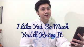 I Like You So Much, You'll Know It (Ysabelle Cuevas English Version Cover)