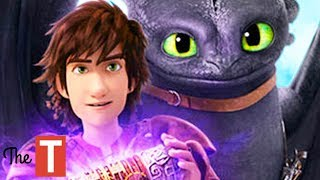 How To Train Your Dragon 3 The Hidden World Hiccup And Toothless Best Moments