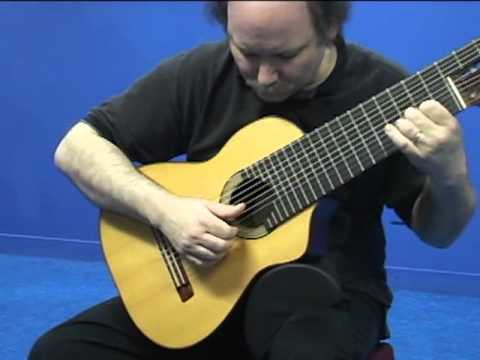 John Francis: Coral Sunset (High Resolution) 11 string solo guitar altgitarr alto