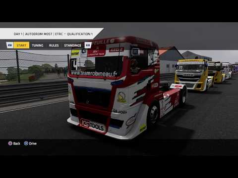 Truck Racing Championship - ETRC Round 5: Autodrom Most, Day 1 Qualification 1 * No Commentary LP
