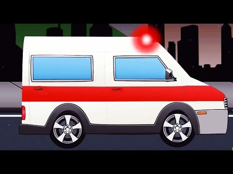 Per Femije Me Makina |Car Cartoon for Kids with Ambulance and Police Cars - Monster Truck For Kids (видео)