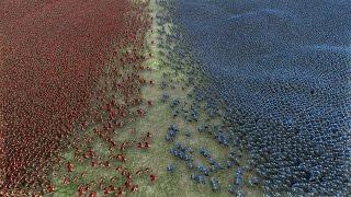 20.000 SPARTANS vs 20.000 HEAVY KNIGHTS - Ultimate Epic Battle Simulator