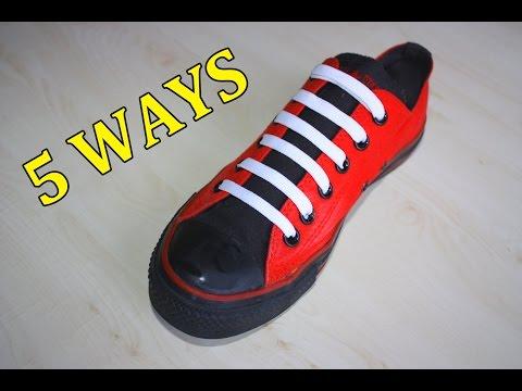 Hướng dẫn 5 cách buộc dây giày cực đẹp