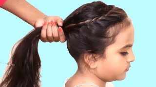 Easy Hairstyle For Medium Hair || Medium Hair Hairstyle For Girls | Kids Hairstyles Tutorials
