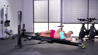 Biceps Curl (Lying Side, Single Arm)
