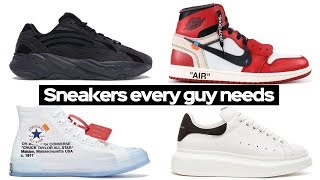 Top 7 Sneakers Every Guy Needs For Summer- Mens Fashion 2019